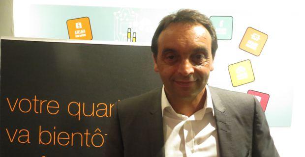 Philippe Daumas, directeur régional d'Orange.