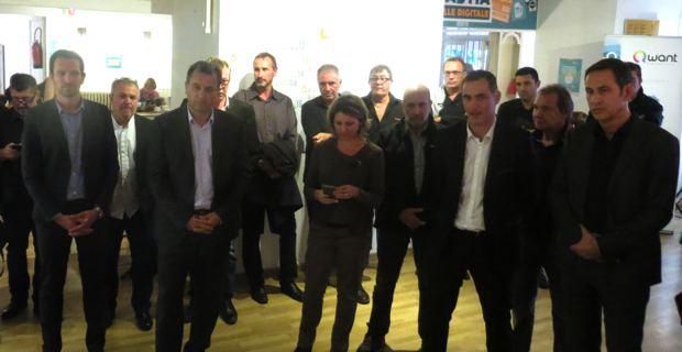 Les élus de la mairie de Bastia et de la CAB.