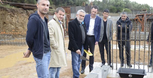 L'Ile-Rousse : Pose de la première pierre d'un ensemble de 70 logements Logis-Corse