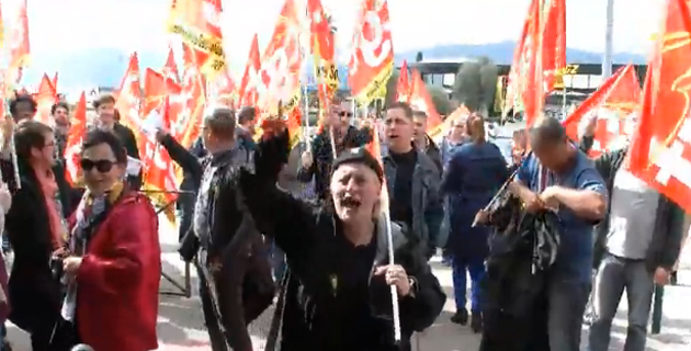 GCT d'Air-France : Mobilisation à l'aéroport de Bastia