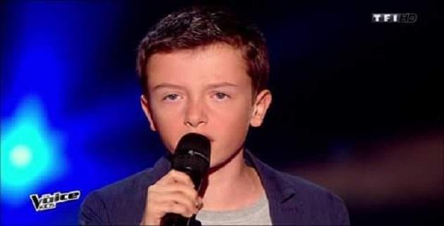 """Lisandru Vivoni fin prêt pour """"les battles"""" de """"""""The Voice Kids"""" vendredi"""