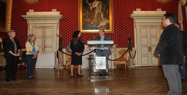 Ajaccio : Monique Quesada, consul général des Etats-Unis à Marseille reçue à la maison carrée