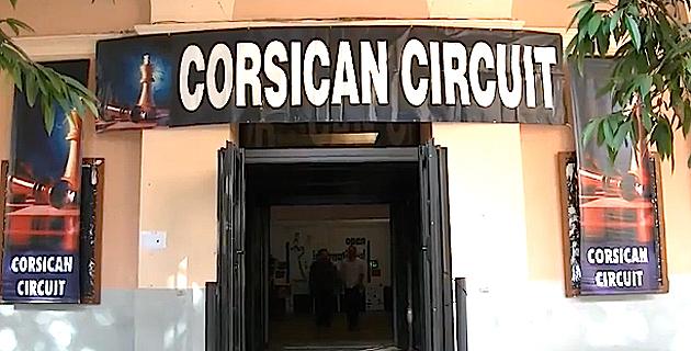 Echecs : Le succès du Corsican circuit