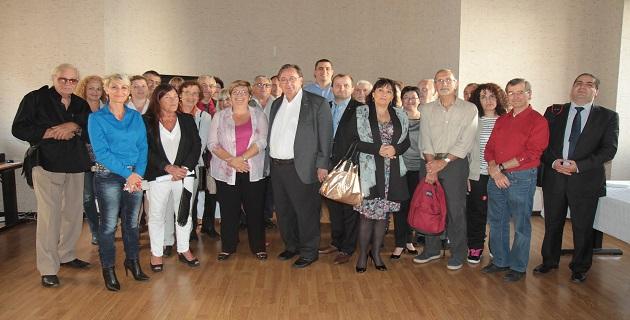 Cérémonie de réception de la réserve citoyenne à l'académie de Corse