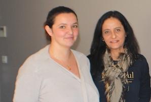 Anne-Charlotte Piscioneri et Patricia Renard