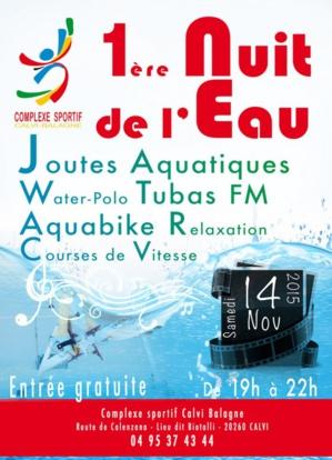 1re Nuit de l'eau le 14 novembre et des nouveautés au complexe sportif Calvi-Balagne