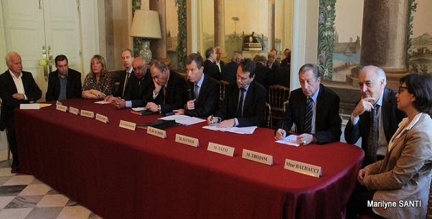 Une charte pour faire de la commande publique un atout pour la compétitivité des entreprises de secteur du BTP de Corse