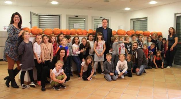 Santa-Maria-di-Lota : Jack-o-lantern s'invite à Miomo