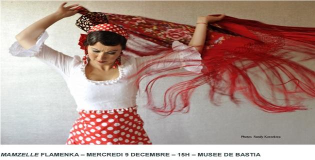 Mamzelle Flamenka, un spectacle pour jeunes enfants à Bastia