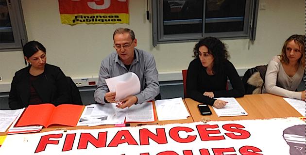 CGT : Grève aux services des finances le 18 novembre