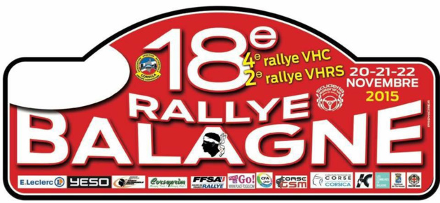 Rallye automobile de Balagne du 20 au 22 novembre