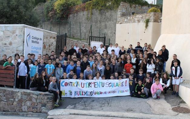 Le collège de Moltifao dit « non au harcèlement scolaire »