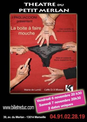 """Marseille : """"La boite à faire mouche"""" au Théâtre du Petit Merlan"""