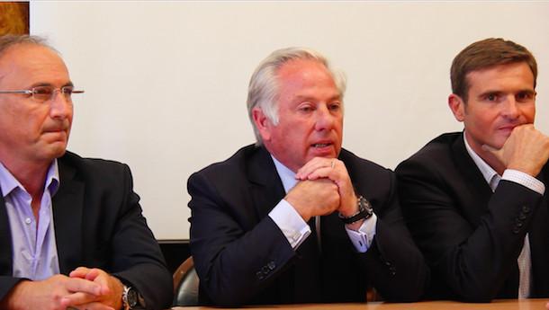 Jean-Marc Serra, Camille de Rocca Serra et Jean-Martin Mondoloni