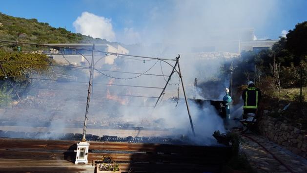 (Photo Amicale des Sapeurs-pompiers de Piana)