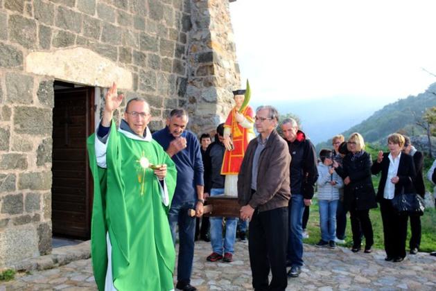 Le culte de San Cesariu célébré à Cateri