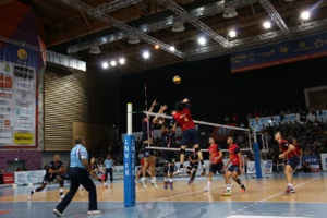 Volley-Ball : Le GFCA confirme sa place de leader face à Lyon