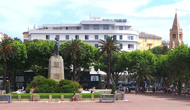 Bastia :  Une nouvelle scénographie pour  célébrer le 11 novembre