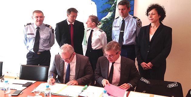 Agressions contre les pompiers en intervention : Un protocole signé à Bastia