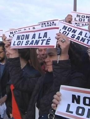 La grève des médecins très suivie en Corse