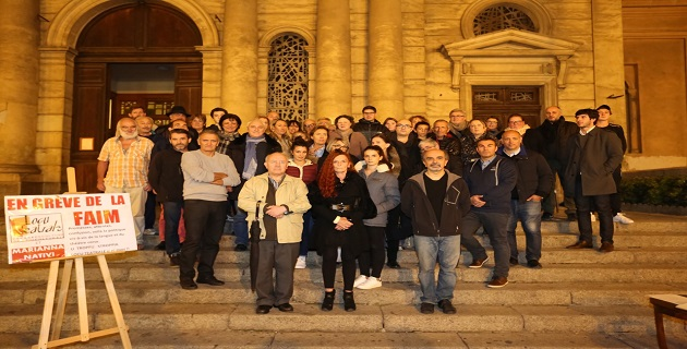 Marianna Nativi suspend sa grève de la faim par solidarité envers les victimes de Paris