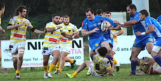 Bastia XV : La défaite sur le fil…