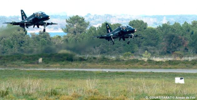 Solenzara-Ventiseri : La Royal Air Force à l'entraînement sur la BA 126