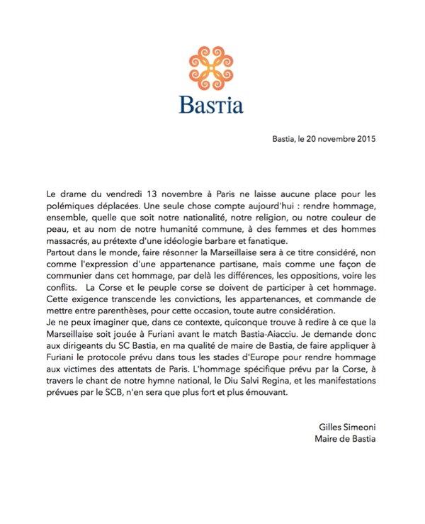 Marseillaise à Furiani : Tags sur les murs de la mairie de Bastia et polémique…