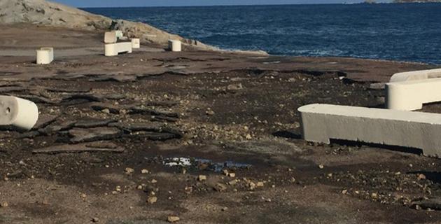 L'accès à la jetée du port de commerce de Calvi interdit au public