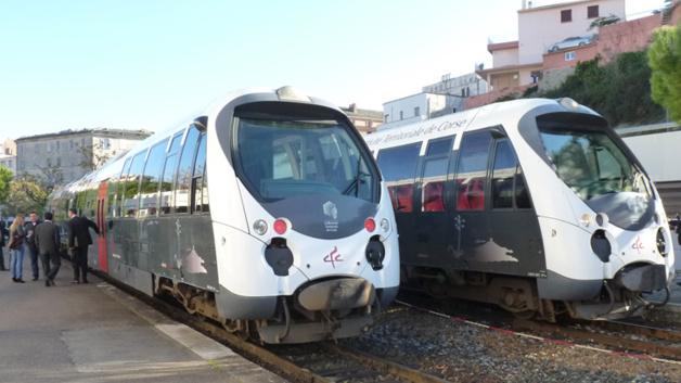 Grève aux chemins de fer de la Corse
