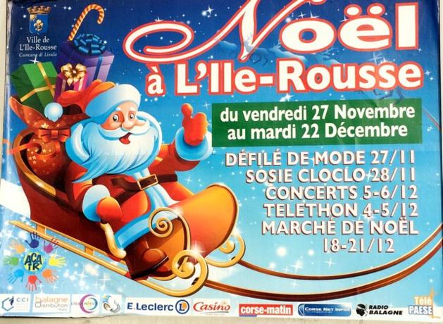Commerçants en fête à L'Ile-Rousse