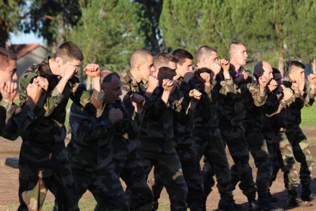 Les réservistes se forment au 2e Régiment Etranger de Parachutistes  de Calvi