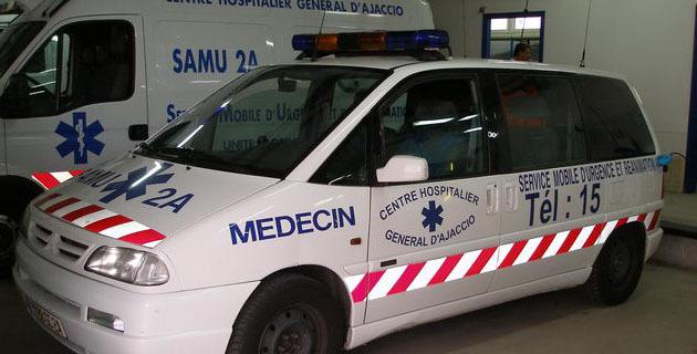Porticcio : Un piéton très grièvement blessé