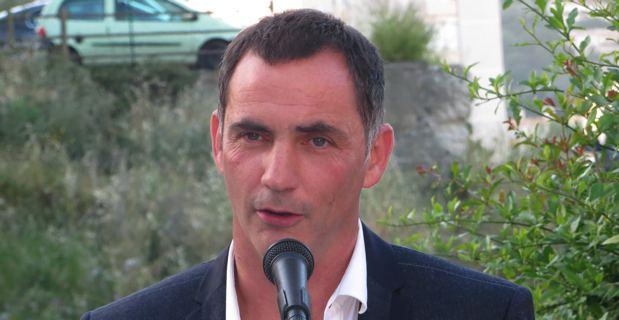 Gilles Simeoni, maire de Bastia, conseiller territorial sortant et leader de Femu a Corsica.