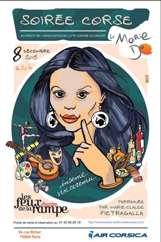 La Corse fait son show à Paris avec la Marie-Do