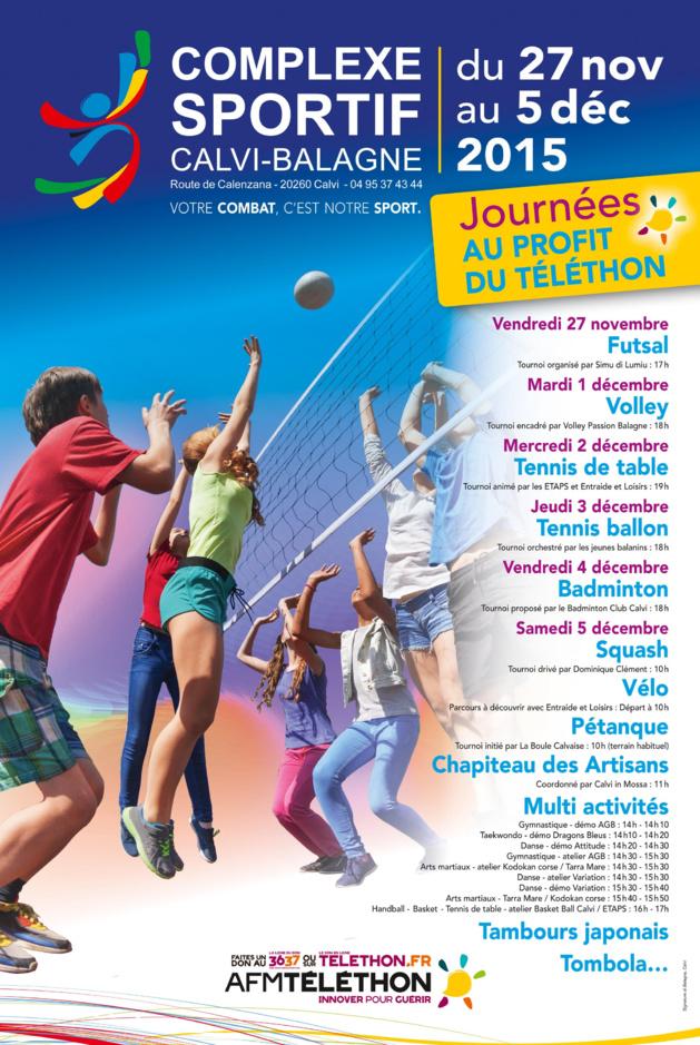 """Les élèves de l'école Loviconi de Calvi ont participé à """"La course du muscle"""" pour  le Téléthon"""