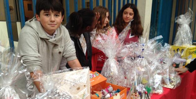 Bastia : Le  collège Simon-Vinciguerra à l'heure du Téléthon