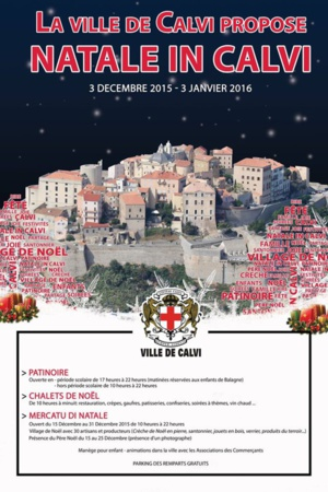 """Natale in Calvi"" a ouvert ses portes"