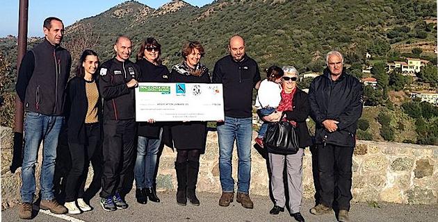 Belgodère : Un chèque de 7 800€ pour la Marie Do