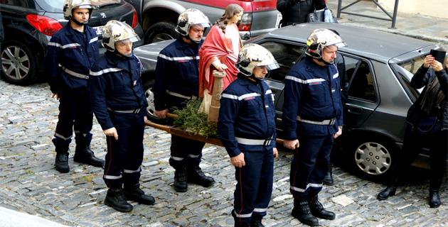 Sainte Barbe fêtée avec beaucoup de faste à Cervioni
