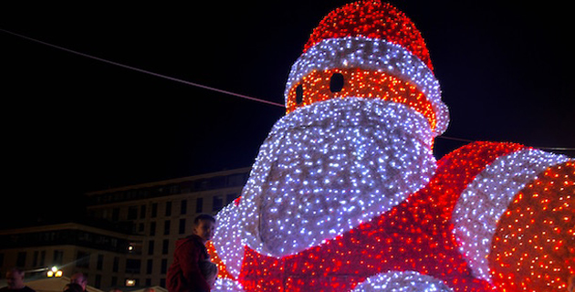 Ajaccio : Les festivités de Noël sont lancées