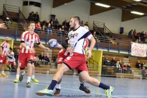 (Quentin Erard auteur de 3 buts © Grenoble SMH GUC Handball)