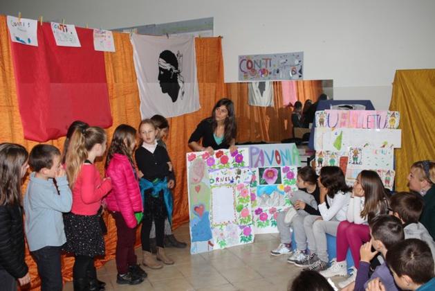 Scola Marie-Dominique Loviconi di Calvi: Ghjurnata cunsacrata à a Corsica per a Festa di a Nazione