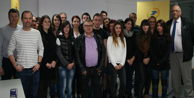 Ajaccio : 17 apprentis facteurs accueillis à la poste de Corse