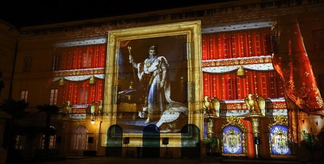 Palais Fesch-Cathédrale : Ajaccio se met à l'heure du vidéo mapping jusqu'au 23 décembre