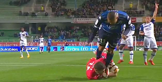 Le Sporting rejoint par Troyes (1-1)