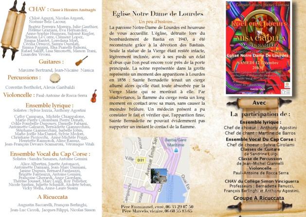 Bastia : La magie de Noël en concert