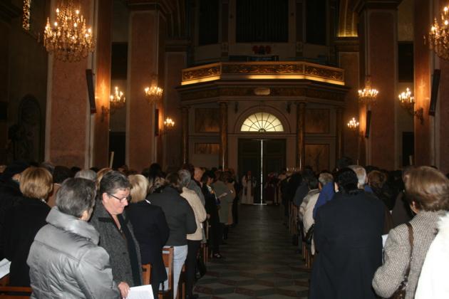 Cérémonie d'ouverture à la Cathédrale de Bastia