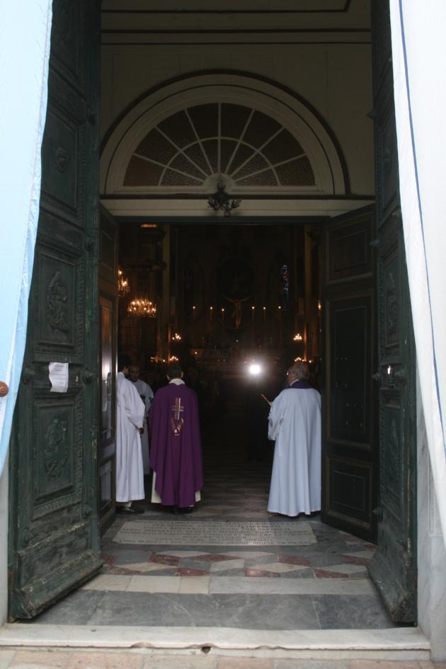 L'ouverture de la porte sainte à la Cathédrale de Bastia