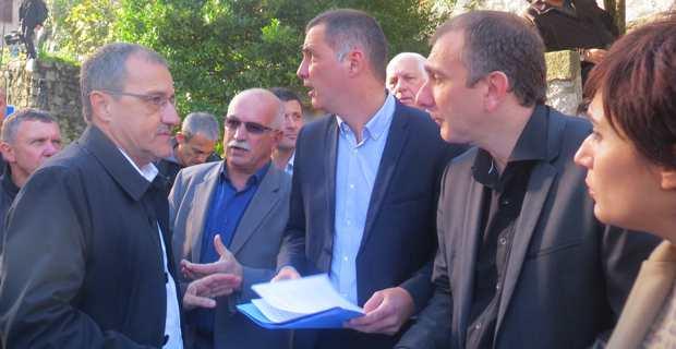 L'appel à l'ouverture déjà lancé à Corte, entre les deux tours de scrutin, par les Nationalistes, au moment de l'union.